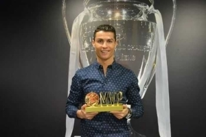 Ronaldo Wins Chinese Most Valuable Player Award